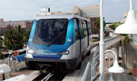 New Metromover Vehicles – PTP funds were used to purchase a new fleet of state-of-the-art Metromover vehicles and funded station renovations.