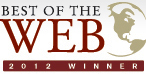 Best of the Web 2012 Winner