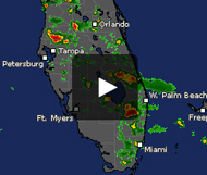 Click on the image for South Florida weather radar