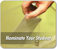 Click here to nominate your student.
