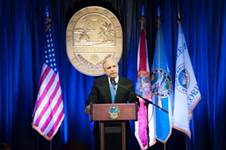 Miami-Dade County Mayor Carlos A. Gimenez delivers his 2014 State of the County Address.