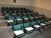 Picture of lecture room