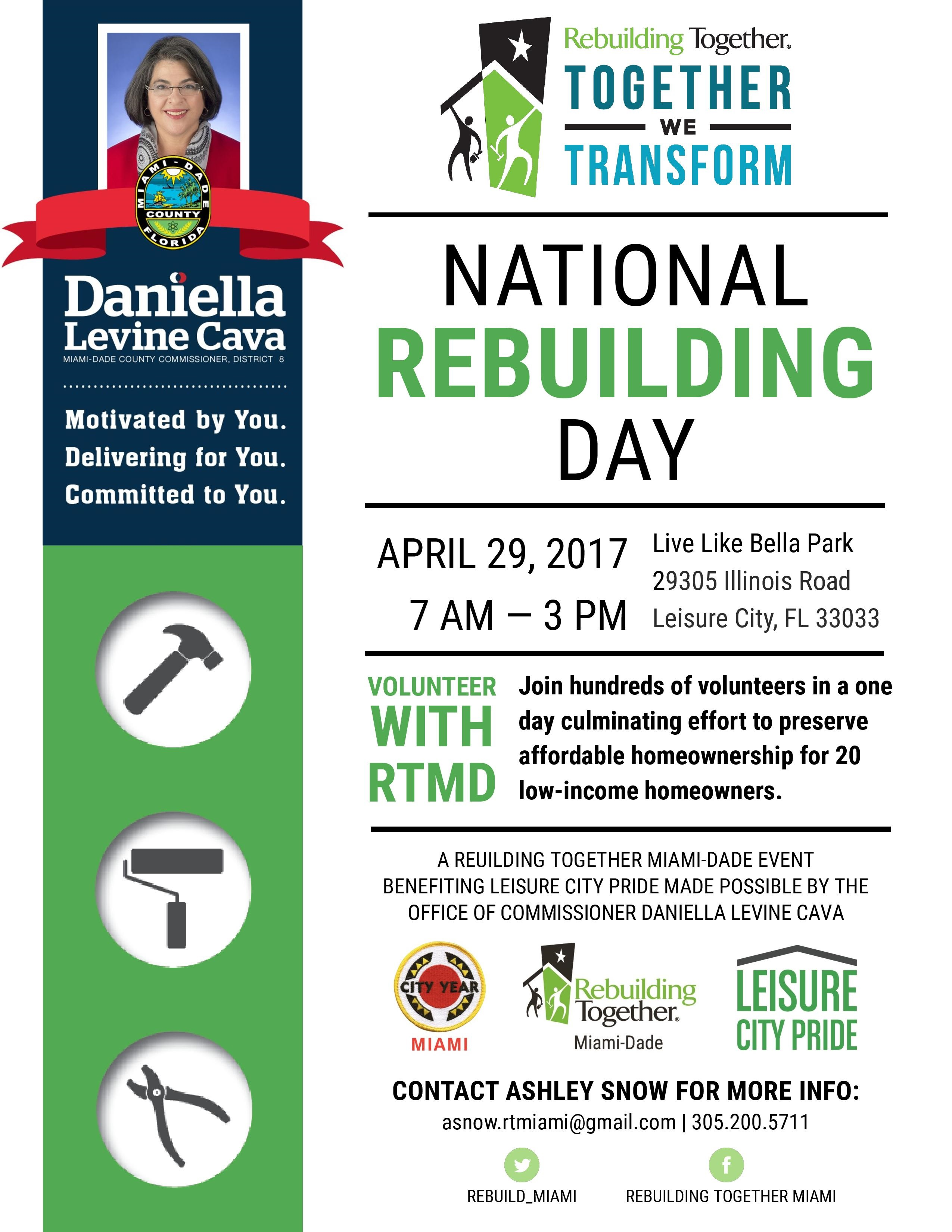 National Rebuilding Day poster