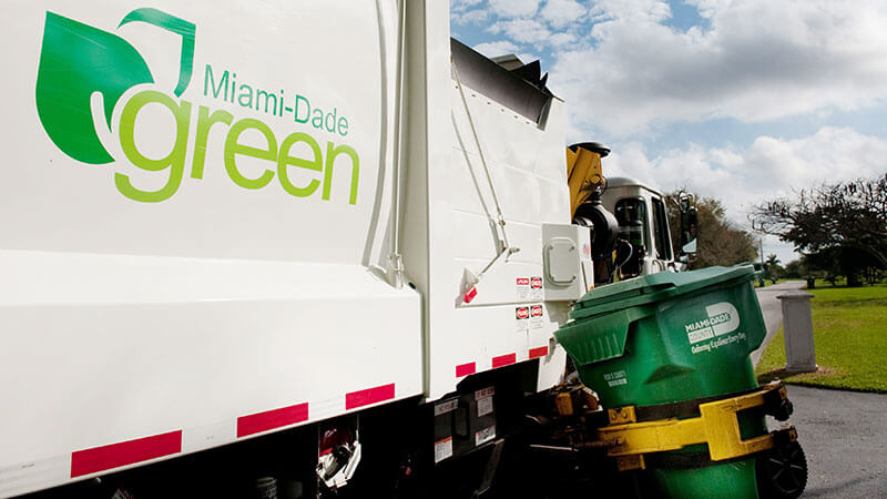 Miami-Dade Green Garbage Pickup